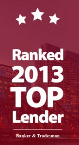 Endeavor Capital ranked 2013 Top Lender by Banker & Tradesman