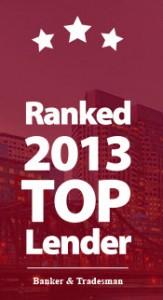 Endeavor Capital ranked 2013 Top Lender by Banker & Tradesman